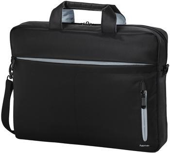 Hama Marseille Style Tasche für Notebook-17.3, schwarz/grau