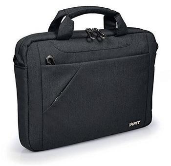 Port Designs Notebooktasche 39,6 cm (15.6 Zoll) Messengerhülle Schwarz