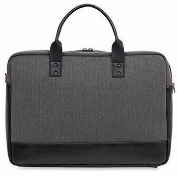 Knomo Holborn Princeton Laptop Toploader 15,6, schwarz-grau