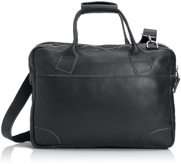 Royal RepubliQ Nano Big zip bag leather - schwarz