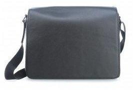 Leonhard Heyden London 15 Laptop Messenger schwarz