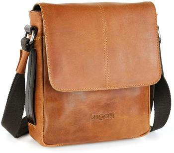 Bugatti Grinta Shoulder Bag Medium Cognac