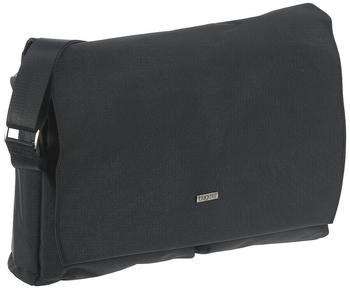 Bugatti Contratempo Messenger Bag mit Laptopfach schwarz