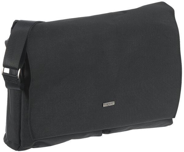 Bugatti Contratempo Messenger Bag mit Laptopfach schwarz
