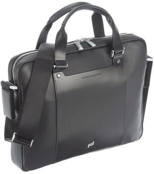 Porsche Design Shyrt-Leather Laptop Bag Black