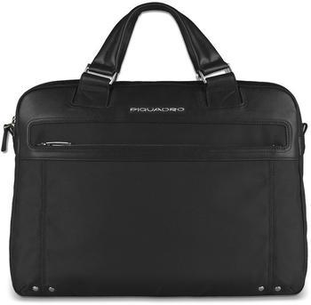 "Piquadro Link Doppelgriff-Laptoptasche, 15"" mit iPad®-/iPad®Air-/iPad®mini-Fach schwarz"