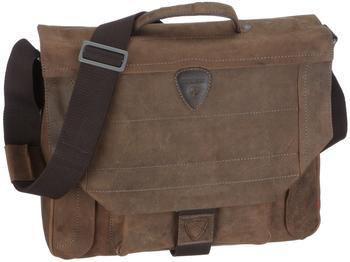 strellson Hunter Briefbag M Dark brown