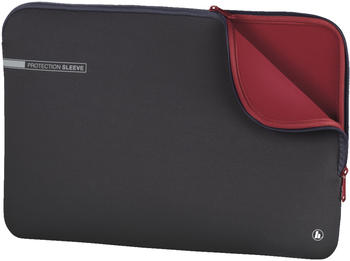 "Hama Notebook-Sleeve Neoprene 14,1"" grau-rot"