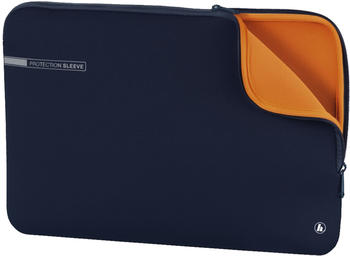 "Hama Notebook-Sleeve Neoprene 14,1"" blau-orange"