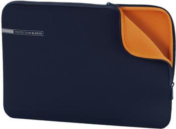 "Hama Neoprene Style Notebook-Sleeve 11,6"" blue/orange"