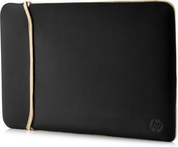 "HP Reversible Neoprene Sleeve 14"" schwarz/gold"