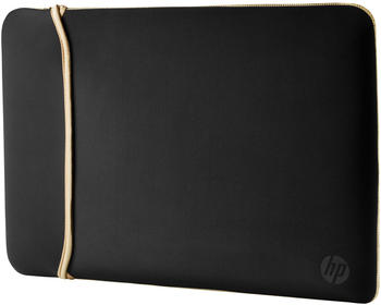 "HP Reversible Neoprene Sleeve 15.6"" schwarz/gold"