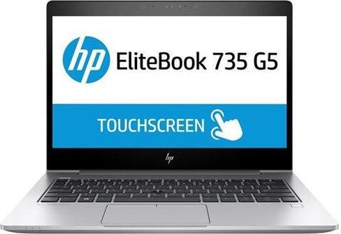 HP EliteBook 735 G5 Ryze7 2700U 13.3 8/256 W10P Notebook 256 GB - (3UN62EA#ABD)