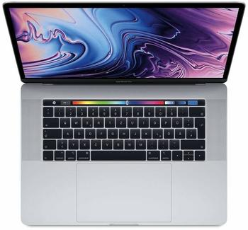 "Apple MacBook Pro 15"" 2018 Silber mit Touch Bar"