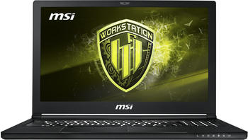 "MSI WS63 8SJ-027 4K Workstation, 15.6"" 4K/UHD IPS, i7-8850H, 32GB, 512GB SSD+..."