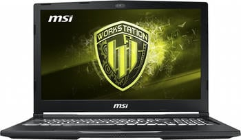 MSI Workstation WE73 8SJ-233 4K i78750H/16GB/256GB+1TB/P2000 4GB ...