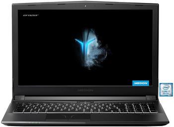 Medion ERAZER® P6705 39.6cm (15.6 Zoll) Gaming Notebook Intel Core i7 8GB DDR4-RAM 1024GB HDD 256GB
