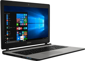 Medion Medion® AKOYA® E6435 Notebook (39,6 cm/15,6 Zoll, Intel Pentium, HD-Grafik, 1500 GB HDD) silberfarben