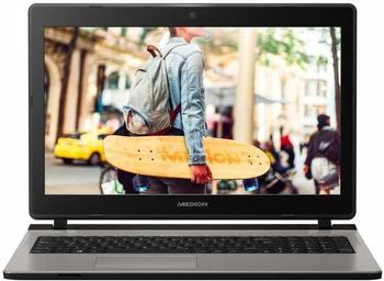 "Medion AKOYA® E6435 Notebook 39,6cm/15,6"", MD 61186, Intel®Core i3-7100U, 128GB SSD, 1TB HDD silberfarben"