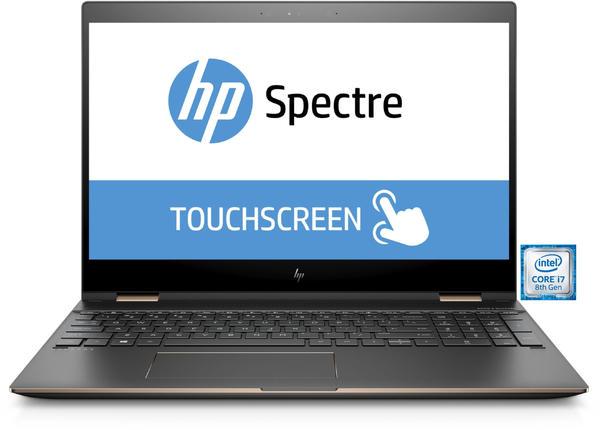 HP Spectre x360 15-ch006ng Notebook dunkelgrau/kupfer, Windows 10