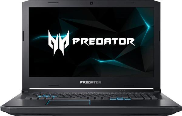 Acer Predator Helios 500 PH517-51-742U Gaming-Notebook i7-8750H 16GB 512GB+1TB GTX1070-8GB Schwarz, Blau)