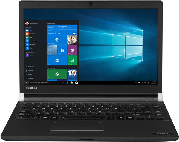 Toshiba Satellite Pro A30-D-11E 33.8cm (13.3 Zoll) Notebook Intel Core i7 8GB 256GB SSD Intel HD Gra