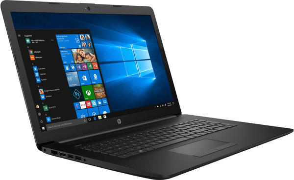 HP 17-by1017ng 5XP17EA Notebook schwarz, Windows 10 Home) 64-Bit