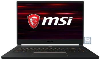 MSI GS65 9SD-413 Stealth, Notebook schwarz/gold, Windows 10 Pro) 64-Bit