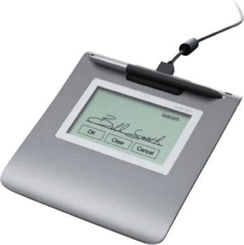Wacom STU-430-SP-SET Signature Set (inkl. Pad/-Stift/Sign Pro PDF Grafiktablett 2540 lpi USB Grau