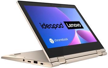 Lenovo IdeaPad Flex 3 Chromebook 29,5 cm (11,6 Zoll, 1366x768, HD, WideView, Touch) Ultraslim Notebook Intel Celeron N4020, 4GB RAM, 64GB eMMC, Intel UHD-Grafik 600, ChromeOS, beige