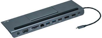 I-Tec USB-C 4K Triple Display Dock (C31FLATPLUS112W)