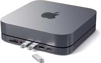 Satechi USB-C Aluminum Stand Hub Mac Mini (ST-ABHFM)