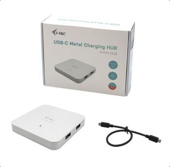I-Tec USB-C Metal Charging Hub 4