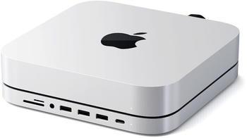 Satechi USB-C Aluminum Stand Hub Mac Mini (ST-ABHFS)