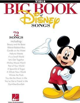 Hal Leonard The Big Book of Disney Songs (Viola)