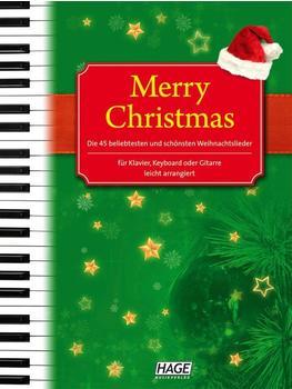 Hage Musikverlag Merry Christmas (mit CD)