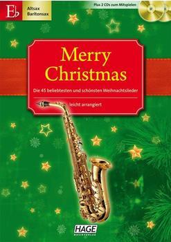 Hage Musikverlag Merry Christmas für Es-Instrumente