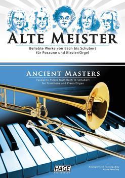 Hage Musikverlag Alte Meister für Posaune und Klavier/Orgel