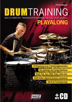 Hage Musikverlag Drum Training Playalong (mit MP3-CD)