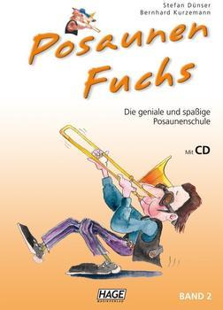 Hage Musikverlag Posaunen Fuchs Band 2 (mit CD)