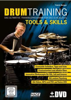 Hage Musikverlag Drum Training Tools & Skills (mit Daten-DVD)