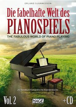 Hage Musikverlag Die fabelhafte Welt des Pianospiels Vol. 2 (mit CD)