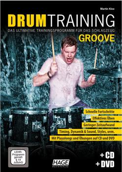 Hage Musikverlag Drum Training Groove (mit CD und DVD)