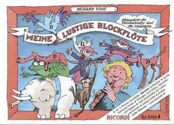 Editions Ricordi Meine Lustige Blockflöte Band 1 (barocke Griffweise)
