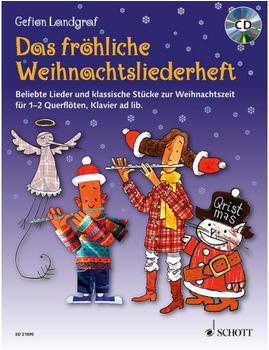 Schott Das Fröhliche Weihnachtsliederheft (1-2 Querflöten)