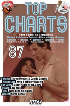 Hage Musikverlag Top Charts 87 mit CD + 1 Bleistift