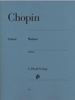 Henle Verlag Frédéric Chopin Walzer