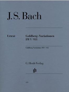 Henle Verlag Johann Sebastian Bach Goldberg-Variationen BWV 988