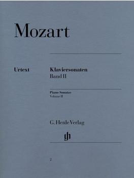 Henle Verlag Wolfgang Amadeus Mozart Klaviersonaten, Band II