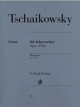Henle Verlag Peter Iljitsch Tschaikowsky Die Jahreszeiten op. 37bis